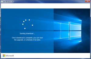 Windows-10 Download Screen
